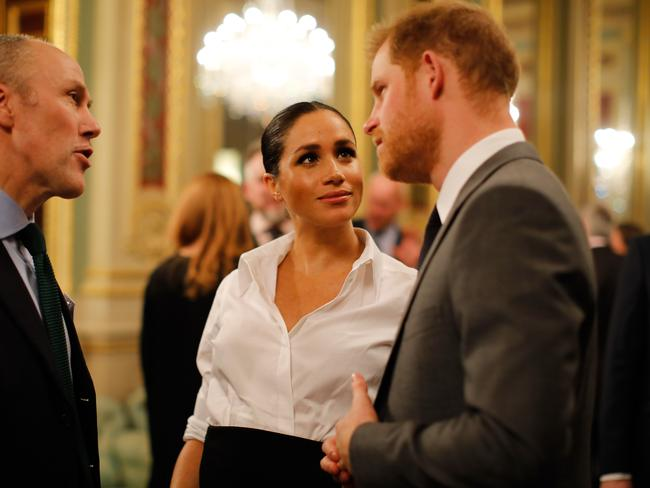 Meghan is under immense pressure over her warring family. Picture: Getty Images