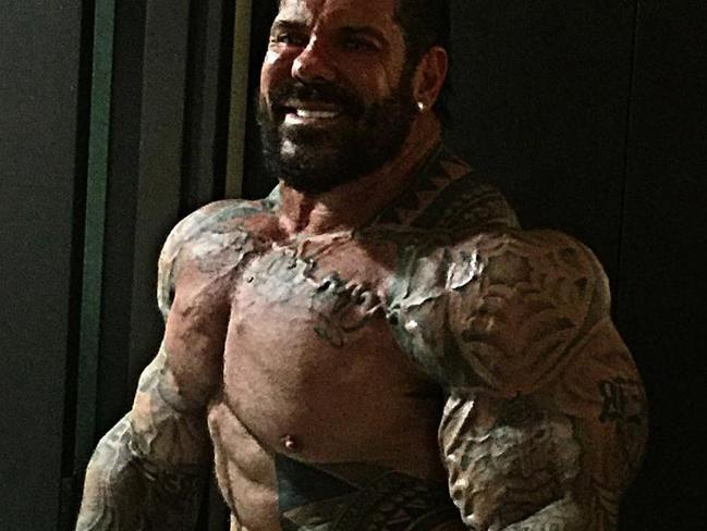 Rich Piana: Bodybuilder, steroid user sharing tips