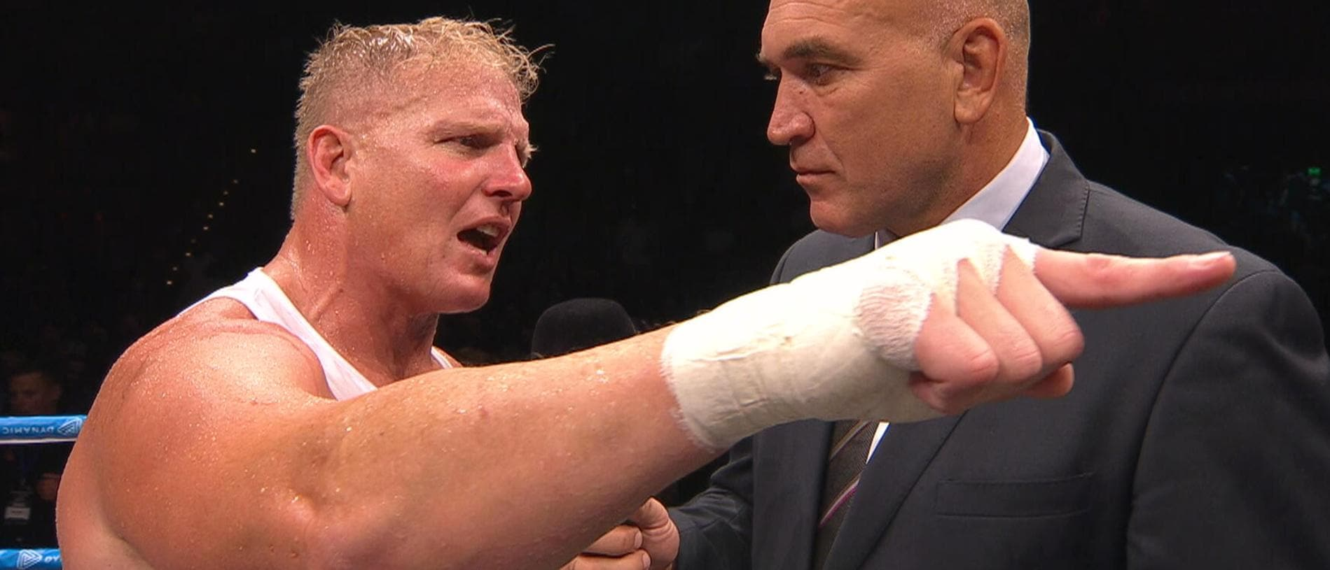 Ben Hannant was emotional after fighting Josh Papalii in Townsville.