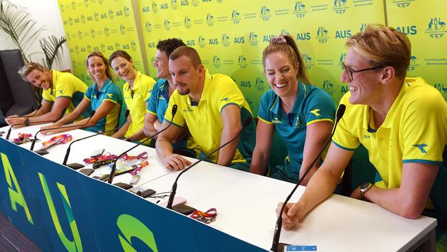 Horton spoke to media on Sunday ahead of the Commonwealth Games.
