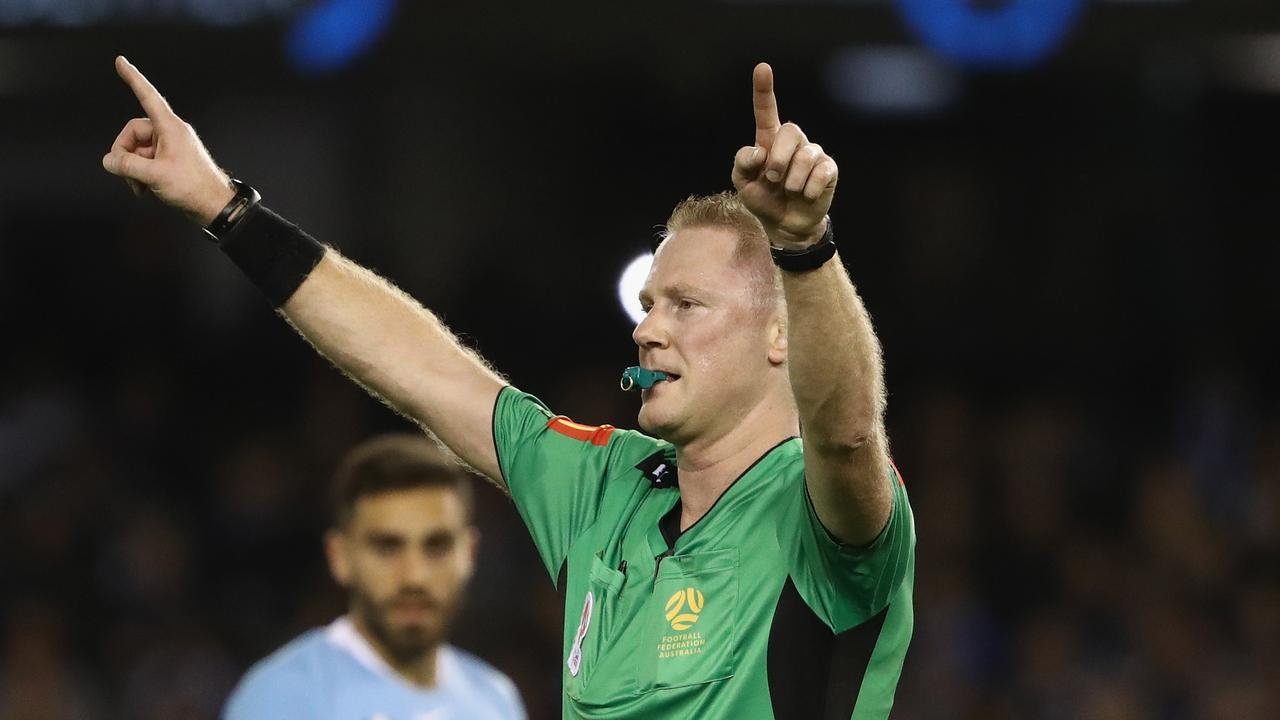 Referee Kurt Ams has been given the week off.