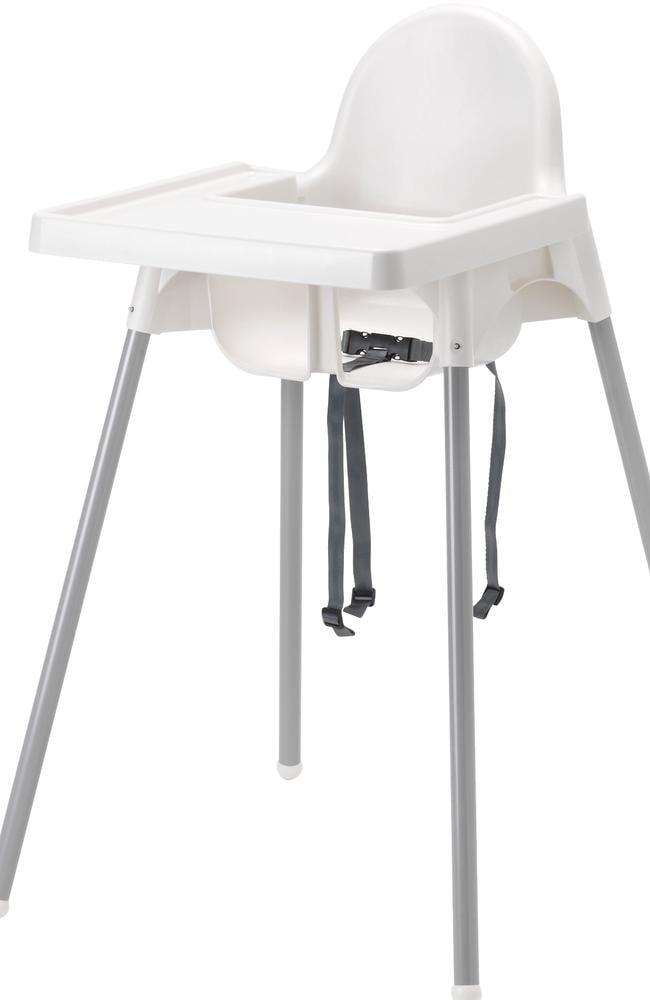 The $25 IKEA high chair.