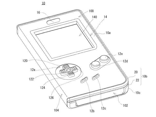 Here's the patent for a Nintendo Game Boy phone case filed with the United States patent and trademark office.