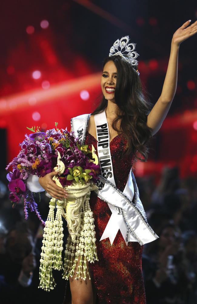 Miss Philippines Catriona Gray has won Miss Universe 2018. (AP Photo/Gemunu Amarasinghe)