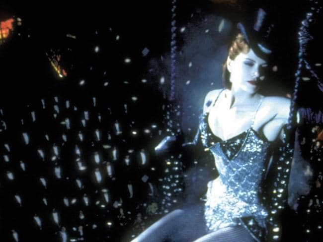 Scary role ... Nicole Kidman says she was nervous to sing in Moulin Rouge. Picture: Sue Adler.