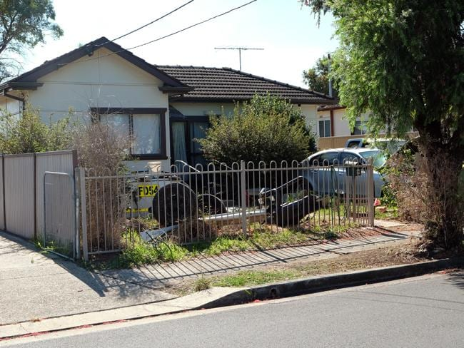 Rubbish and overgrown gardens are common sights in the front yards of other homes.