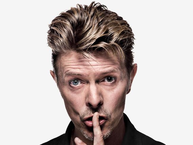 David Bowie for Lazarus. Picture: Gavin Evans