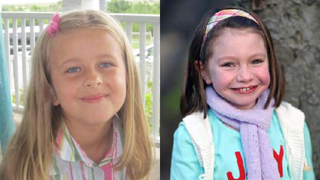 Grace McDonnell and Olivia Engel were two of the 20 children slain in the primary school massacre.