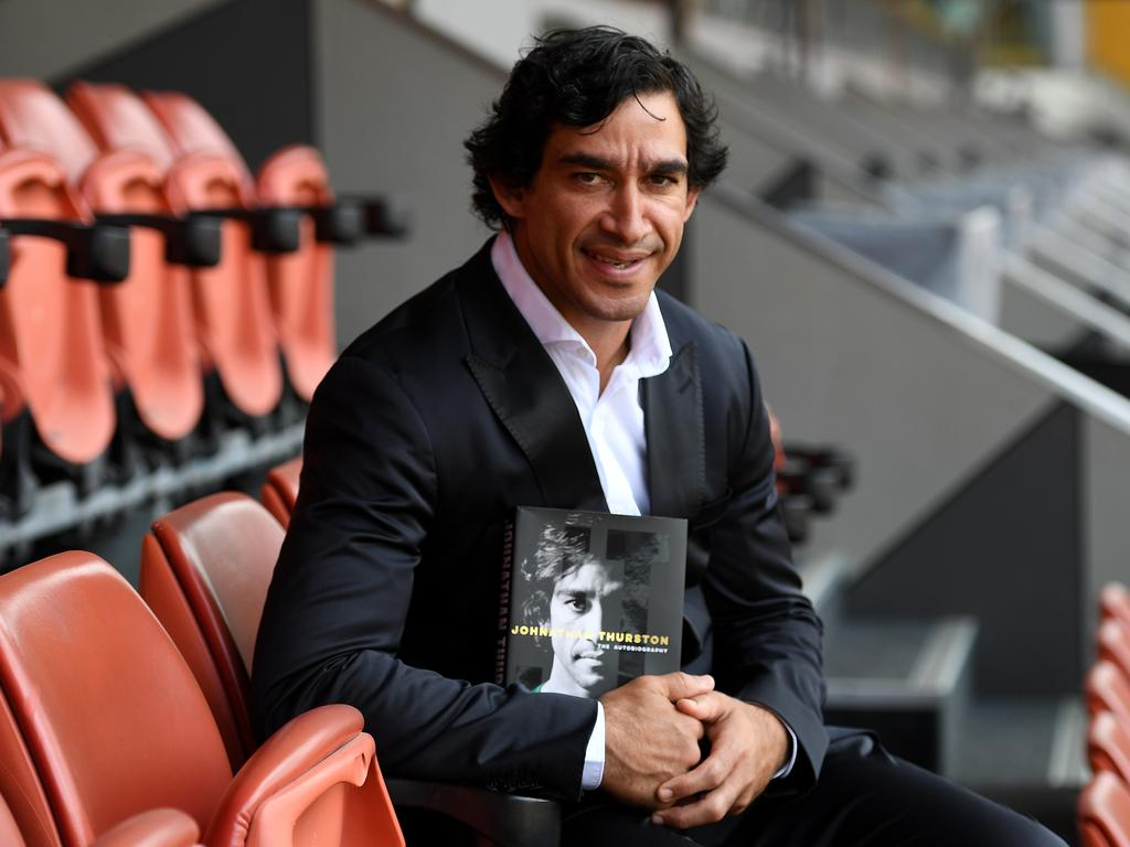 Rugby league legend Johnathan Thurston. Picture: AAP/Dan Peled