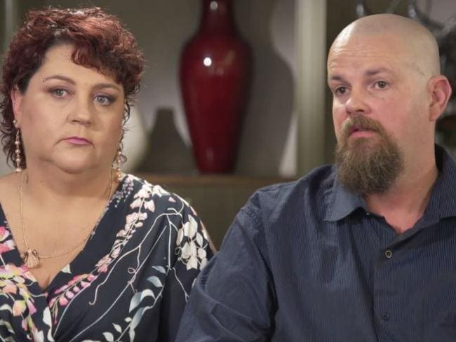 Parents Joanna and Brendan have struggled with their son Sam's addiction too. Picture: Channel 9