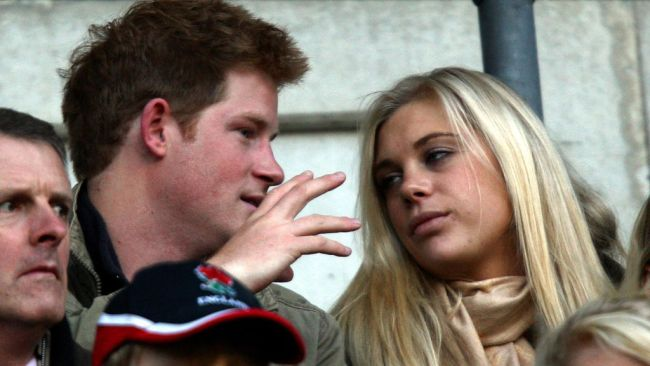 Prince Harry's ex-girlfriend Chelsy Davy is also on the outer. Picture: Getty Images