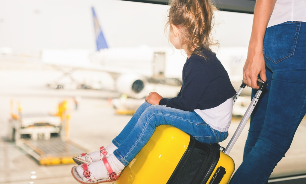Cabin crew worker on why parents should travel with