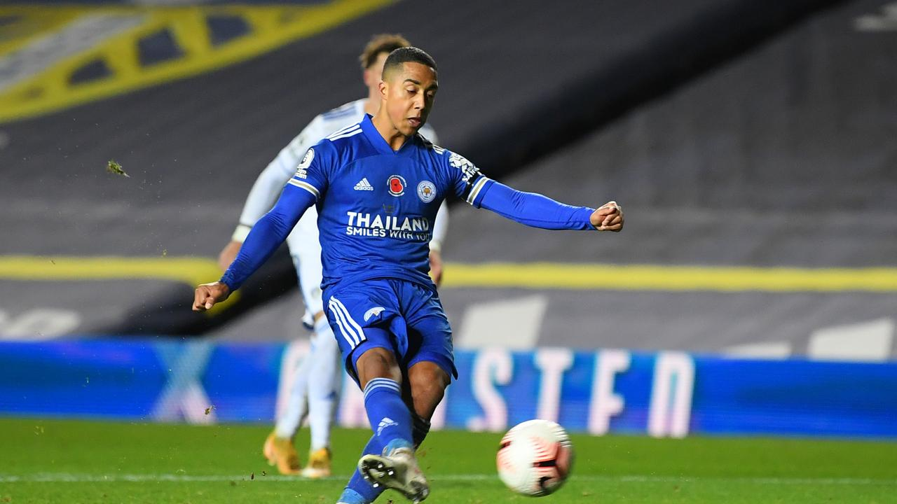 A late Youri Tielemans penalty wrapped up Leicester's fourth successive away league win.