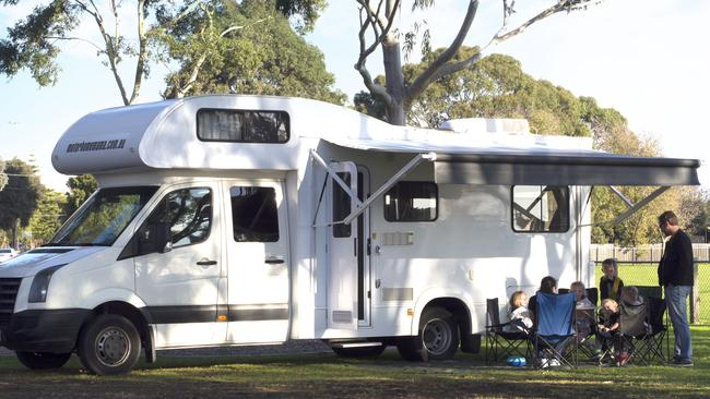 Faith paid around $70k for the motorhome, and has made more than $50k hiring it out since.