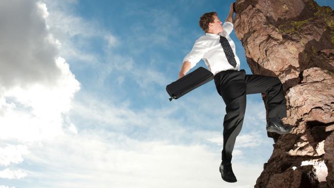 Climb the corporate ladder - check. Picture: Thinkstock.