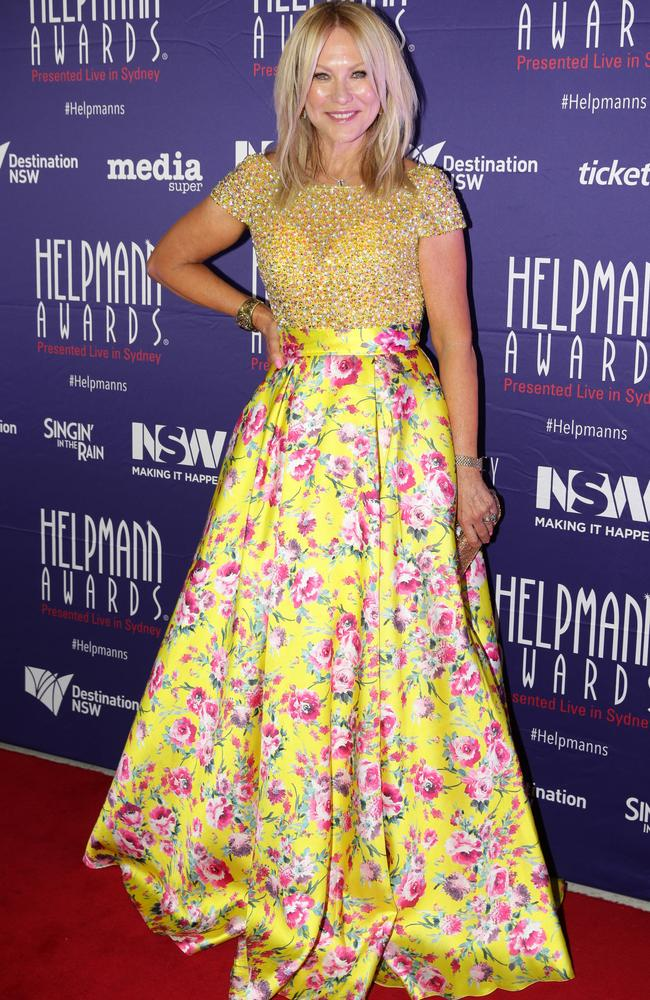 Kerri-Anne made the comments at last night's Helpmann Awards. Picture: Jonathan Ng