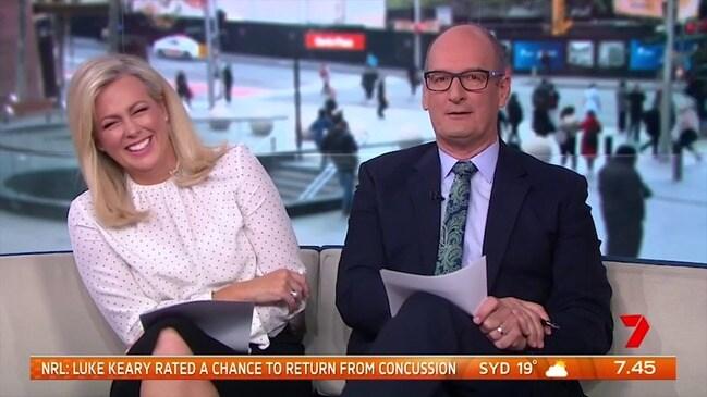 Kochie mocking bullying claims (Sunrise)