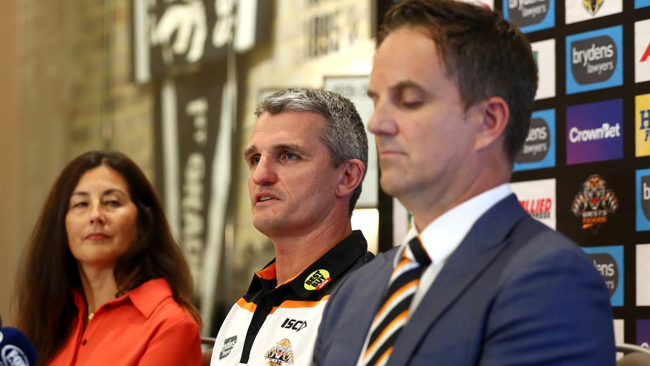 Marina Go, Ivan Cleary and Justin Pascoe: Picture: Gregg Porteous