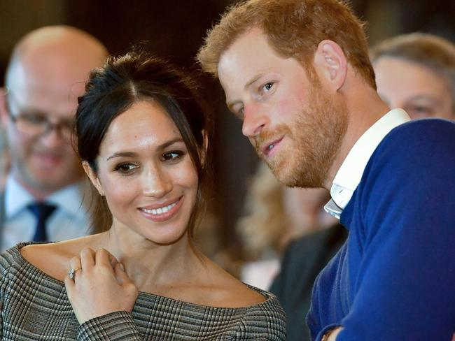 Meghan is renowned for her healthy lifestyle and named her lifestyle website after an Italian red wine. Picture: AFP PHOTO / POOL / Ben Birchall