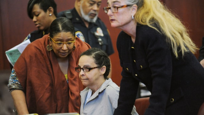 Alleged killer nanny Yoselyn Ortega in Manhattan Criminal Courtroom. Photo: Susan Watts/NY Daily News via Getty Images.