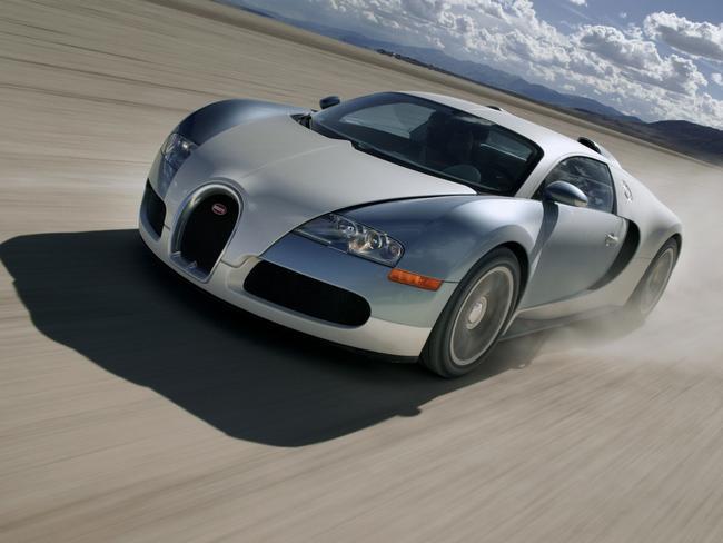 Why is the bugatti veyron illegal in australia