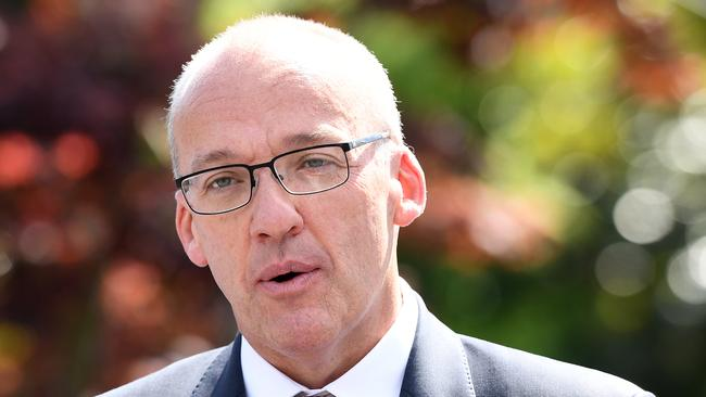 NSW Opposition Leader Luke Foley allegedly phoned Ashleigh Raper on Sunday to apologise and said he planned to resign. Picture: AAP