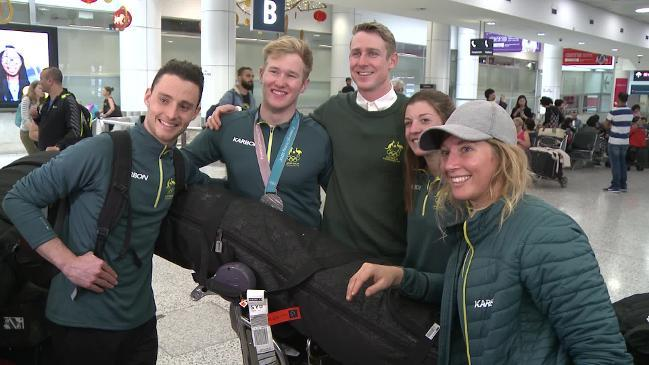 Aussie Olympian Hughes 'excited' to be home