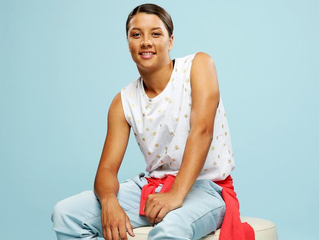 Sam Kerr is on the FIFA short-list for women's player of the year. Picture: Tim Hunter. Styling: Westfield Stylist, Adriana Fernandez.