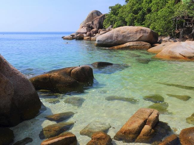 Darker side ... The island of Koh Tao is no stranger to backpacker deaths. Picture: Supplied.