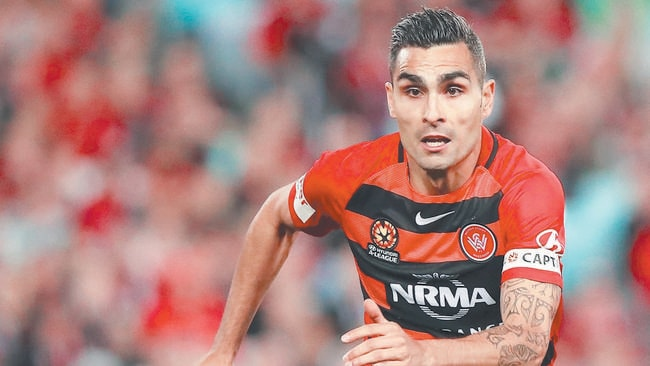 Western Sydney Wanderers captain Dimas Delgado says his team is only concerned about Saturday night's derby and not their three-year winless streak against Sydney FC.