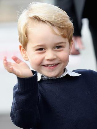 Prince George will act as page boy.