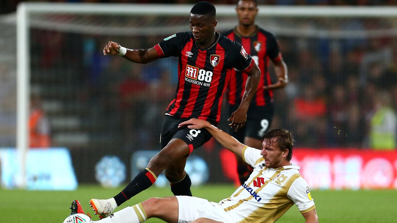 Jefferson Lerma made his debut for Bournemouth.