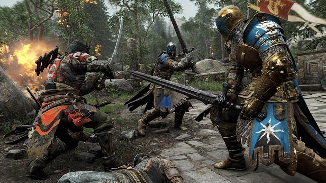 For Honor puts the players in the armour of either a knight, samurai or Viking.