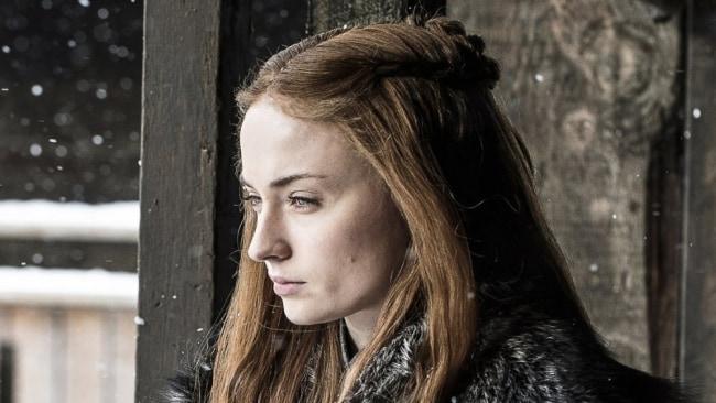 Sansa at Winterfell. Photo: 'Game of Thrones'