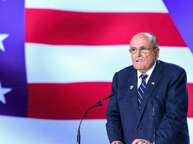 President Donald Trump's personal lawyer Rudy Giuliani returned to Ukraine on December 4, 2019. Picture: Gent Shkullaku