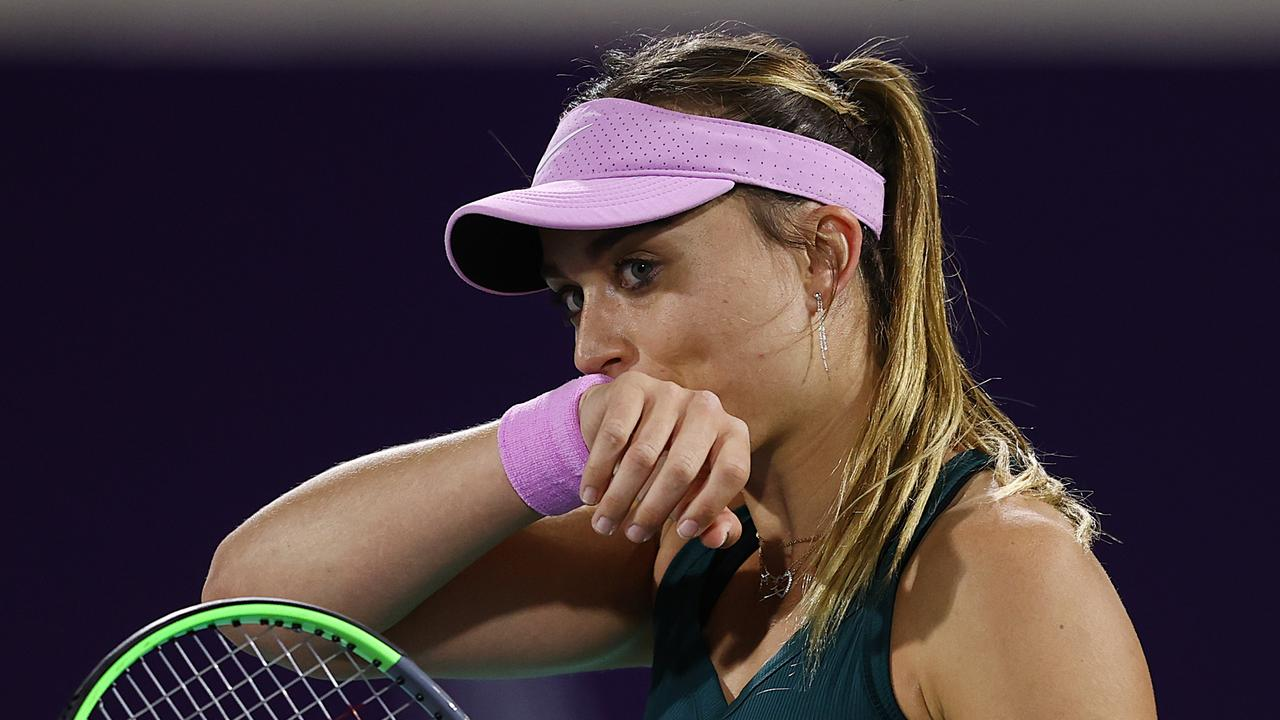 Abu Dhabi WTA Women's Tennis Open - Day Three