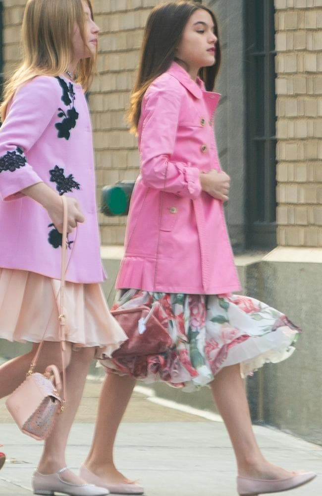 Suri Cruise is all grown up, and still undeniably chic. Picture by: SplashNews