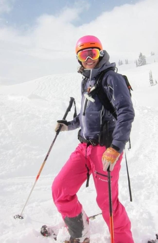 Katherine Clarke was a keen back-country skier and climber and died doing what she loved, her husband Jim said.