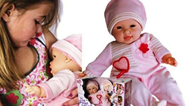 Controversy Surrounds Childrens Breast-Feeding Baby Doll Toy-1297