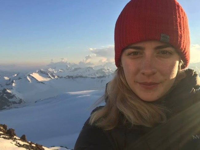 Alyssa Azar has reached the summit of Mt Everest twice. Picture: Facebook