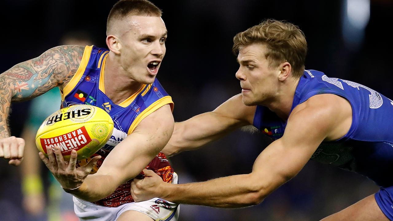 Lions midfielder Dayne Beams. Photo: Adam Trafford/AFL Media/Getty Images