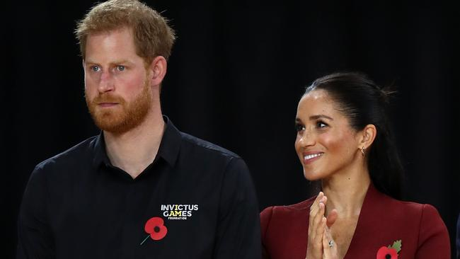 The Duke and Duchess of Sussex have branched out on their own. Picture: Cameron Spencer/Getty Images for the Invictus Games Foundation