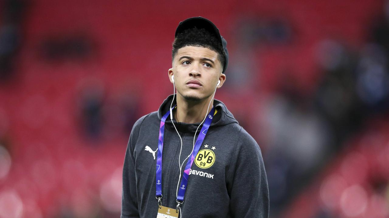 Borussia Dortmund's young British star Jadon Sancho gets in the zone ahead of their crucial Champions League tie with Tottenham.