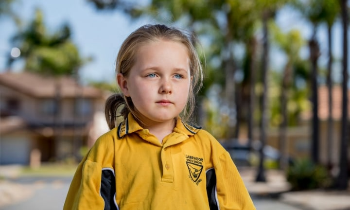The Year One girl will now have to start over at a new school. Picture: Jerad Williams Source: Gold Coast Bulletin