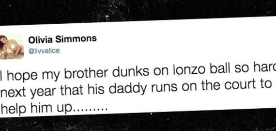 Ben Simmons' sister didn't hold back. (Photo: TMZ)