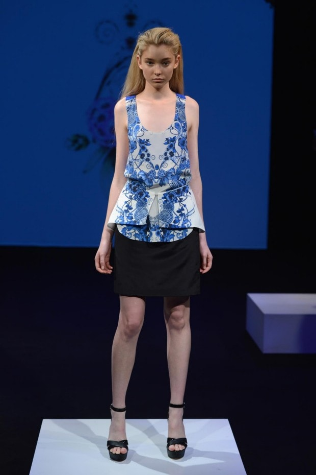 Sara Phillips Australian Fashion Shows S/S2012/13
