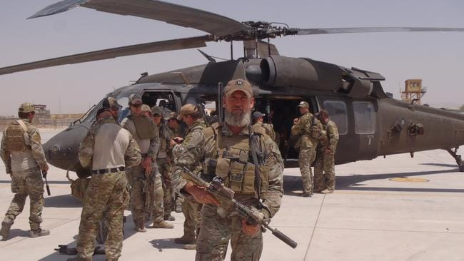 Moffitt notched up almost 1000 days in special operations across Timor, Iraq and Afghanistan. Picture: Supplied
