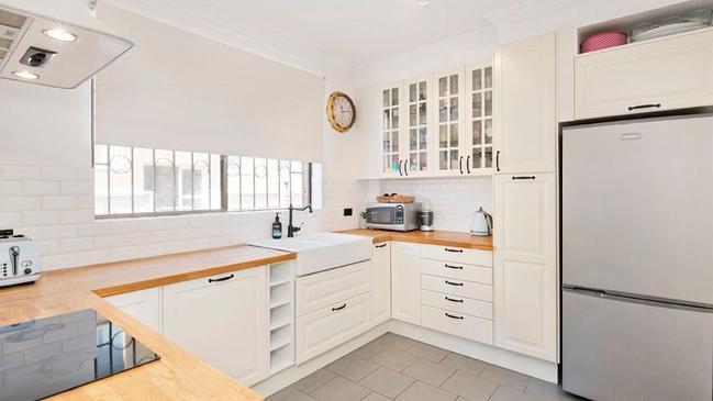 The kitchen has had a refurbishment.