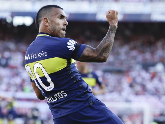 Carlos Tevez. (AP Photo/Natacha Pisarenko, File)