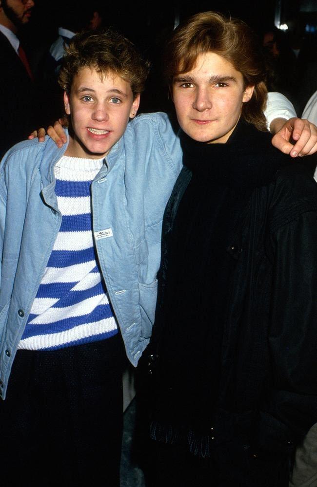 Corey Feldman and Corey Haim. Picture: Supplied
